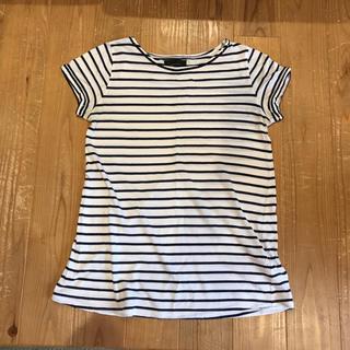 サロンデュラトリニーテ(Salon de la Trinite')のボーダートップス スパンコール(Tシャツ(半袖/袖なし))