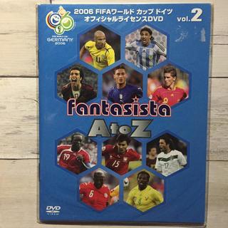 コカコーラ(コカ・コーラ)の2006 ワールドカップ DVD fantasista AtoZ vol.2(スポーツ/フィットネス)