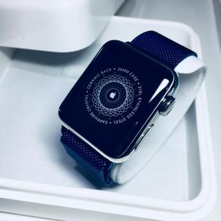 未使用品 Apple Watch 38mmアップルウォッチ(腕時計(デジタル))