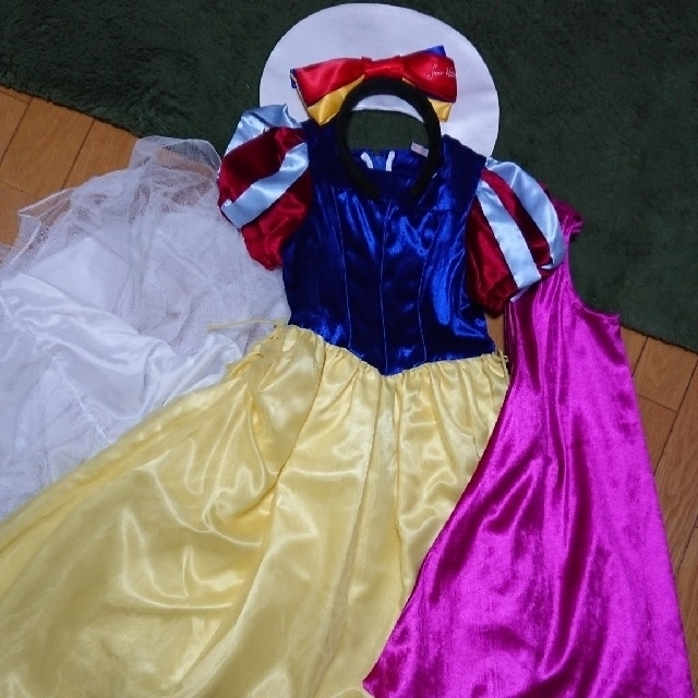 8aae709b21245 Disney(ディズニー)のビビディバビディブティック☆白雪姫 ドレス ディズニープリンセス 120 130 キッズ