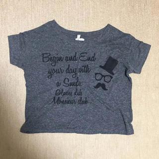 チャコールグレー Tシャツ