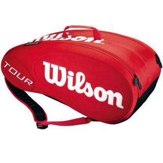 ウィルソン(wilson)のテニスラケットバッグ   ウィルソン   ツアー   モールデッド(バッグ)