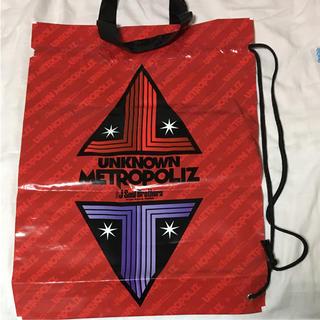 サンダイメジェイソウルブラザーズ(三代目 J Soul Brothers)の三代目ビニール袋(ショップ袋)