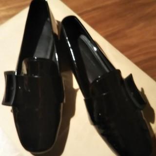 ジルサンダー(Jil Sander)のJIL SANDER エナメルシューズ ぽんきち様 専用です‼️(ローファー/革靴)