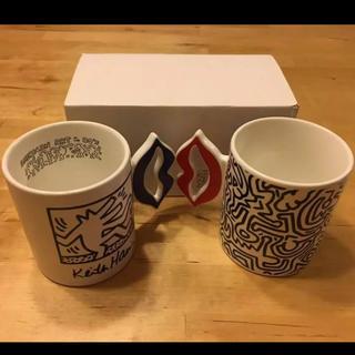 スライ(SLY)の【新品 レア】SLY ノベルティ キースヘリング ペアマグカップ(グラス/カップ)