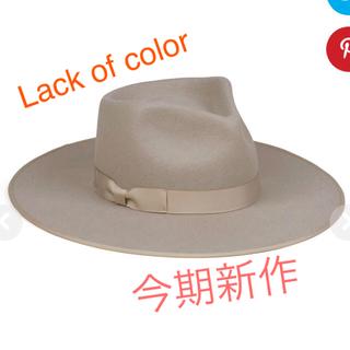 ルームサンマルロクコンテンポラリー(room306 CONTEMPORARY)の Lack of color Zulu rancher (麦わら帽子/ストローハット)