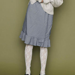 メリージェニー(merry jenny)の🐻merryjenny🐻未着用 千鳥格子柄スカート(ひざ丈スカート)