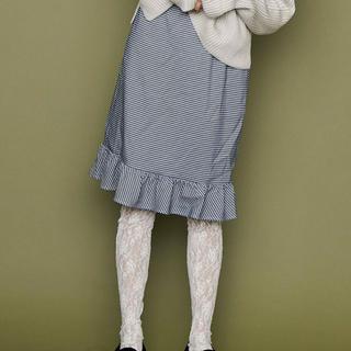 メリージェニー(merry jenny)の🐻merryjenny🐻未着用特価 千鳥格子柄スカート(ひざ丈スカート)