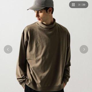 ビューティアンドユースユナイテッドアローズ(BEAUTY&YOUTH UNITED ARROWS)のモックネック カットソー M(Tシャツ/カットソー(七分/長袖))