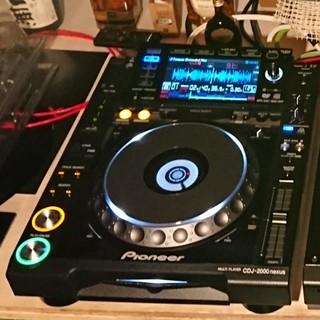パイオニア(Pioneer)のCDJ-2000nexus ×2台 DJM-900nexus ×1台(CDJ)