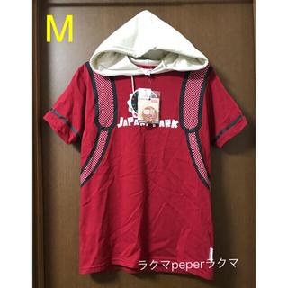 シマムラ(しまむら)の新品 けものフレンズ メンズ パーカー M 缶バッジ 付き(パーカー)