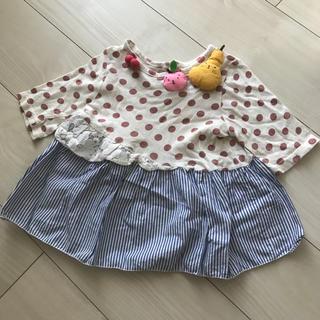アニカ(annika)のANNIKA アニカ チュニック トップス 100cm(Tシャツ/カットソー)