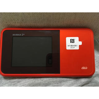 エーユー(au)のau WiMAX2+ speed Wi-Fi next w03(PC周辺機器)