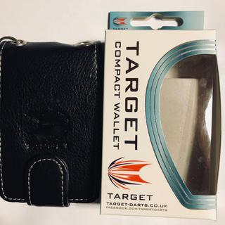 ターゲット(Target)のTARGET ダーツケース Compact Wallet ブラック(ダーツ)