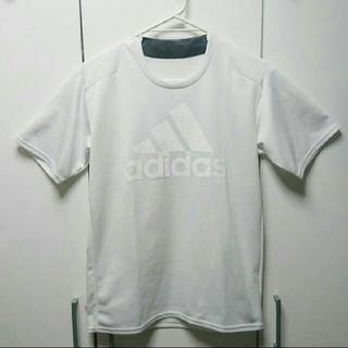 アディダス(adidas)のadidas  白 Tシャツ  中古(Tシャツ/カットソー(半袖/袖なし))