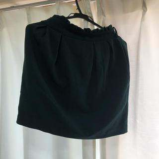 マジェスティックレゴン(MAJESTIC LEGON)のグリーンスカート(ひざ丈スカート)