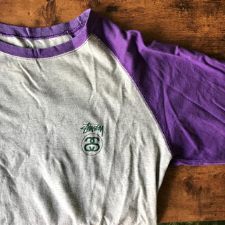 ステューシー(STUSSY)のstussy 七分袖 ラグラン(Tシャツ/カットソー(七分/長袖))