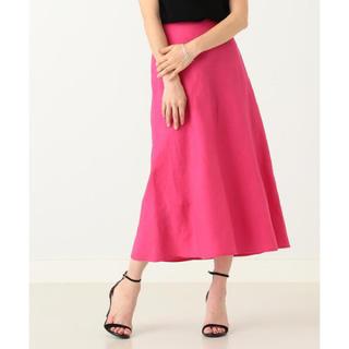 デミルクスビームス(Demi-Luxe BEAMS)のビームス  リネンスカート(ひざ丈スカート)
