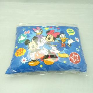ディズニー(Disney)の【新品・送料無料】 ミッキーと仲間達 パイル地低反発チップ枕 約35×25cm(枕)