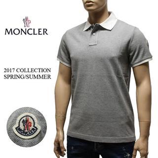 モンクレール(MONCLER)の13 MONCLER 襟裏ロゴ ポロシャツ size L(ポロシャツ)