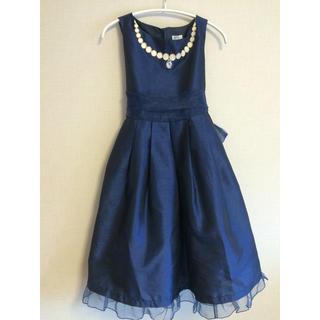 キャサリンコテージ(Catherine Cottage)のキャサリンコテージ ドレス パール刺繍ネックレス ワンピース 140(ドレス/フォーマル)
