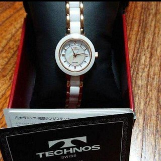 テクノス(TECHNOS)の新品・未使用。スイス製品!テクノスレディス腕時計(腕時計)