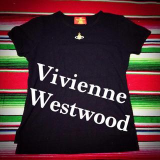 ヴィヴィアンウエストウッド(Vivienne Westwood)のVivienne♡ロゴTシャツ(Tシャツ(半袖/袖なし))