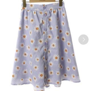 メリージェニー(merry jenny)のmerry jenny ひざ丈スカート(ひざ丈スカート)
