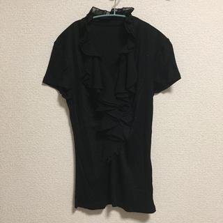 クードシャンス(COUP DE CHANCE)のフリルブラウス(シャツ/ブラウス(半袖/袖なし))