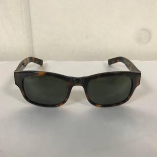 コーチ(COACH)の美品本物コーチCOACHサングラスメガネ眼鏡めがねセルフレーム旅行トラベル茶柄(サングラス/メガネ)