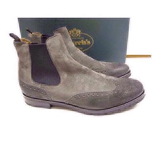 ドゥロワー(Drawer)のchurch'sチャーチサイドゴア40(レインブーツ/長靴)