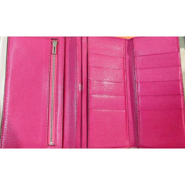 8a4edd3e0c96 Hermes(エルメス)のエルメス ベアン 三つ折り 長財布 ピンク レディースのファッション小物