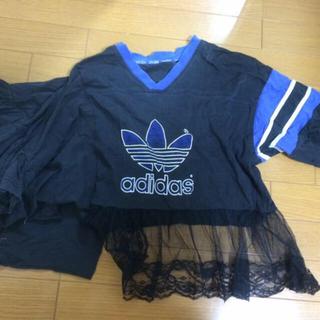 アディダス(adidas)のキャシー adidasリメイクTシャツ(Tシャツ(長袖/七分))