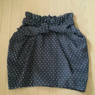 マーキュリーデュオ(MERCURYDUO)のドットスカート(ミニスカート)