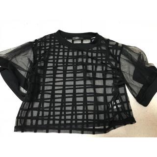 ダミー(DAMMY)のチェック柄Tシャツ(Tシャツ(半袖/袖なし))