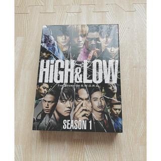 エグザイル トライブ(EXILE TRIBE)のHiGH&LOW SEASON1 完全版BOX 4Blu-ray(TVドラマ)