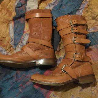 ヴィヴィアンウエストウッド(Vivienne Westwood)のMan パイレーツブーツ キャメル(ブーツ)