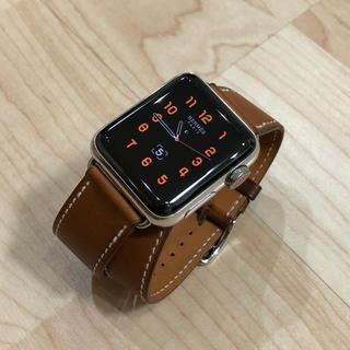 アップル(Apple)のapple watch series3 HERMES 38mm(腕時計(デジタル))