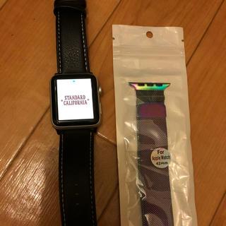 アップル(Apple)の美品☆アップルウォッチ series2  (腕時計(デジタル))