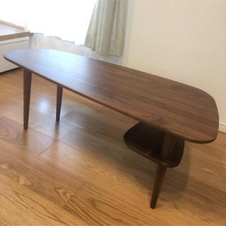 KEYUCA ミースローテーブル【新品・未使用】(ローテーブル)
