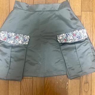 エバーラスティングスプラウト(everlasting sprout)の美品!everlasting sprout 刺繍スカート(ミニスカート)