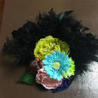ヘッドドレスバレッタ成人式(ヘッドドレス/ドレス)