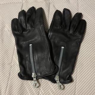 イサムカタヤマバックラッシュ(ISAMUKATAYAMA BACKLASH)のiBACK LASH ディアスキンレザーグローブ(手袋)