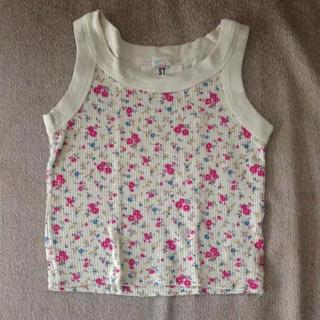 エルエフストアース(LF Stores)の花柄タンクトップ 110(Tシャツ/カットソー)