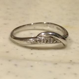 COCO様用 スカラベ scarabe k10 ダイヤ ピンキーリング(リング(指輪))