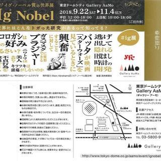 ☆送料無料☆イグ・ノーベル賞の世界展☆ig展☆1枚☆②(美術館/博物館)