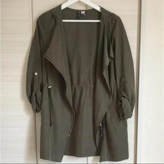 エイチアンドエム(H&M)の着用1回☆H&M カーキ ジャケット(ミリタリージャケット)
