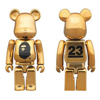 A BATHING APE NOWHERE 23rd GOLDベアブリック