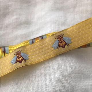 キャトルセゾン(quatre saisons)のハチ  bee  織りテープ   リボン(その他)