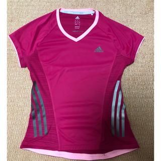 アディダス(adidas)のアディダス*異素材Tシャツ*Mサイズ(トレーニング用品)